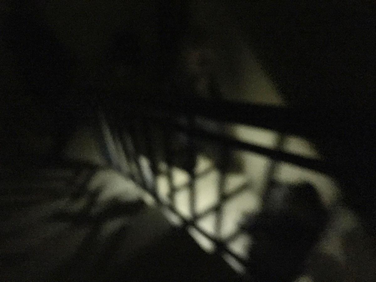 Silhouette des Treppenhause