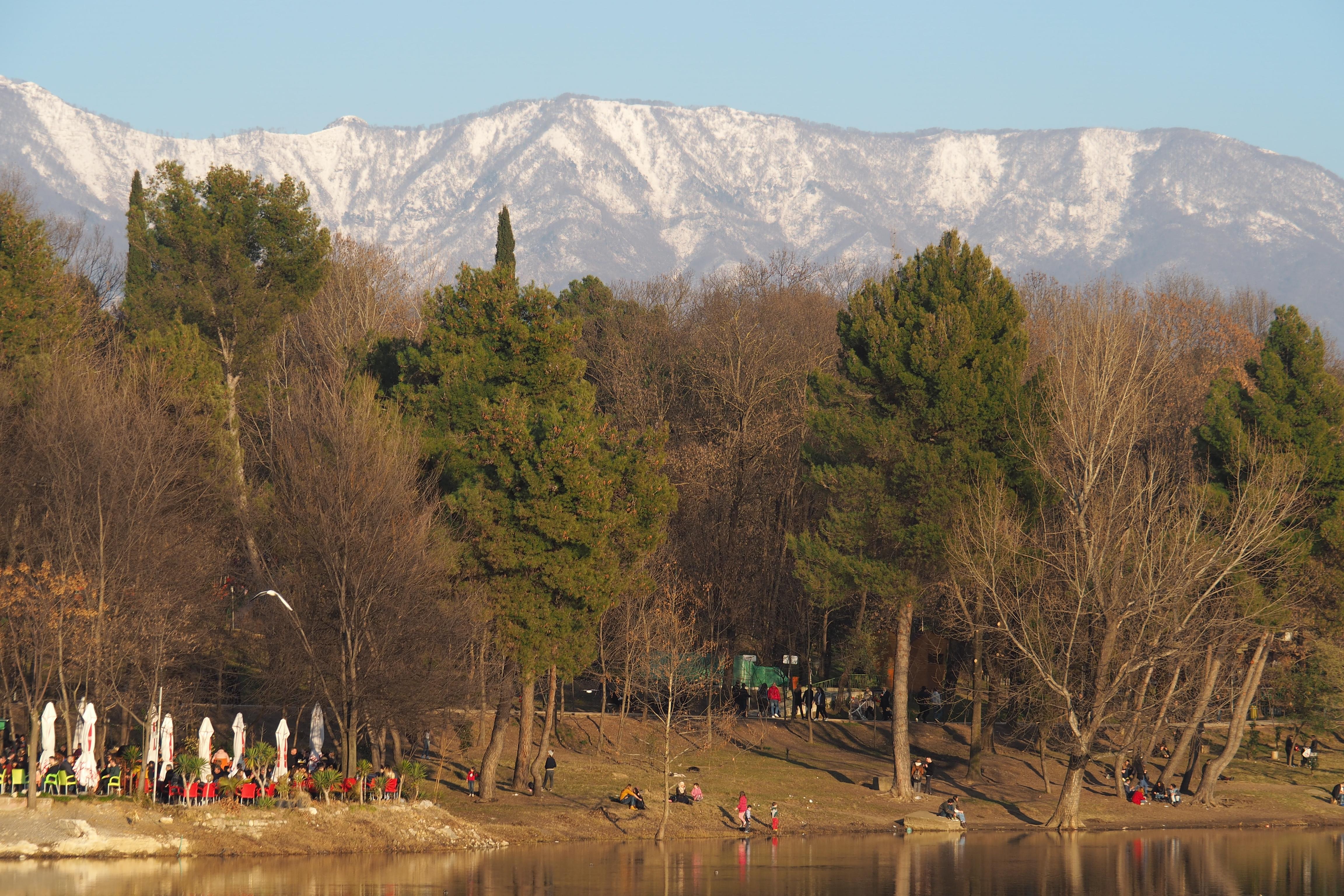 Stadtpark mit Blick auf den Dejti